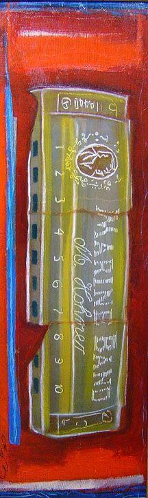 Cheryl Gross - marine Bank Harmonica - 43 x 19