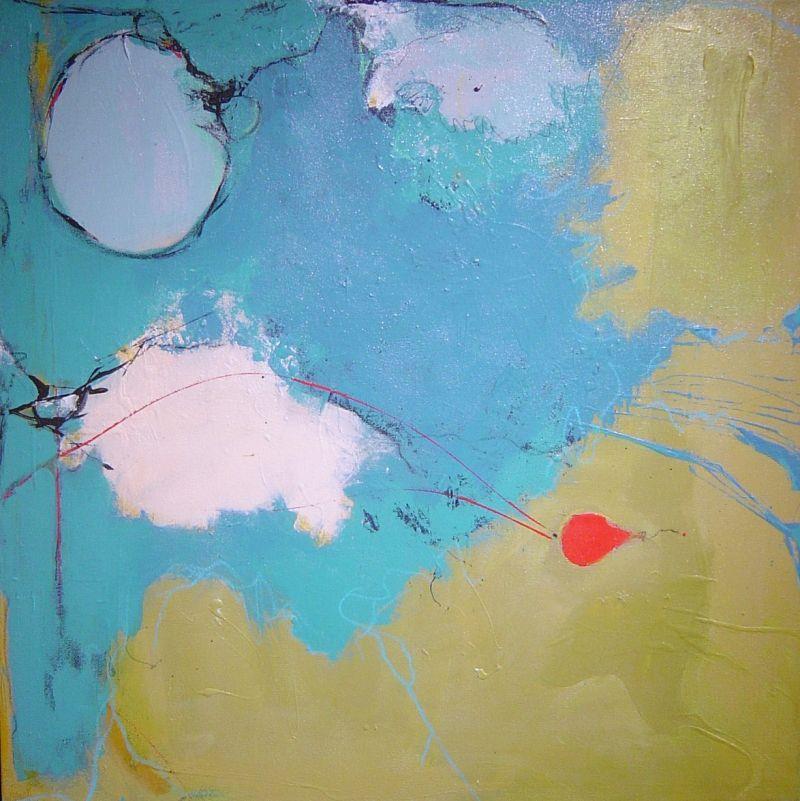 Christina Spanjer - Anticipation - 31 x 31