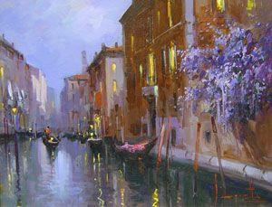 Claudio Simonetti - Romantic Lights of Venice - 15 x 17