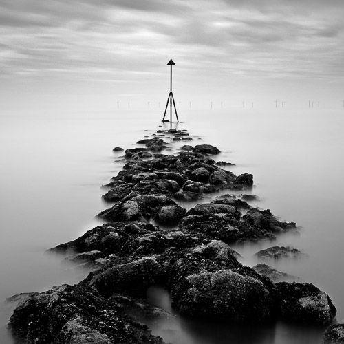Dave Bowman - Receding Tide - 27 x 27
