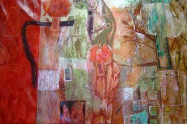 David D. Fernandez - Collage of Pattern - 40 x 60