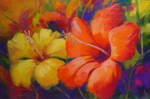 Jennifer  Bowman - Summer Flowers - 24 x 31