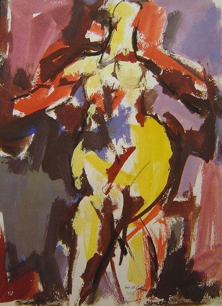 Max Arthur Cohn - Nude Figure 1968 - 27 x 24