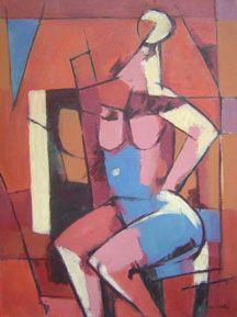 Max Arthur Cohn - Single Nude 1979 - 24 x 18