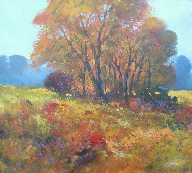 Michael Schofield - Autumn Landscape - 43 x 47