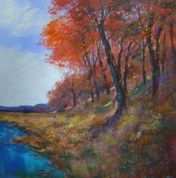 Michael Schofield - Late Fall Color - 50 x 50