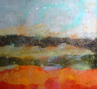 P.T.  Tiersky - Landscape Box I - 20 x 20 x 3