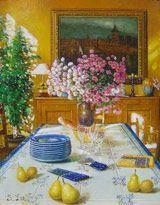 S.H. Lee - Lovely Tile - 15 x 13