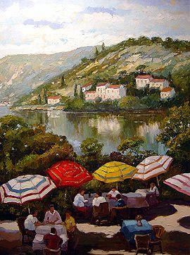 William Rengifo - Lakeside Café - 45 x 35