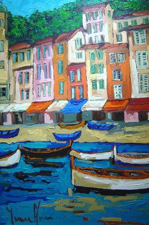 Yvonne Mora - Harbor Village - 36 x 24