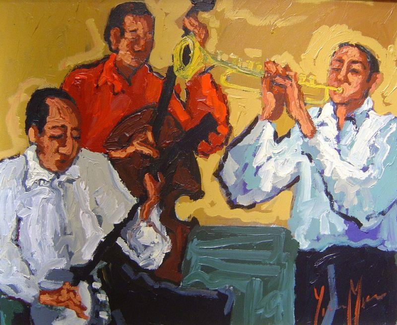 Yvonne Mora - Jazz Night - 27 x 31