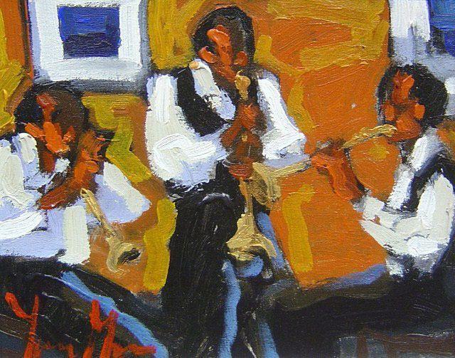 Yvonne Mora - Sounds of Brass - 15 x 17
