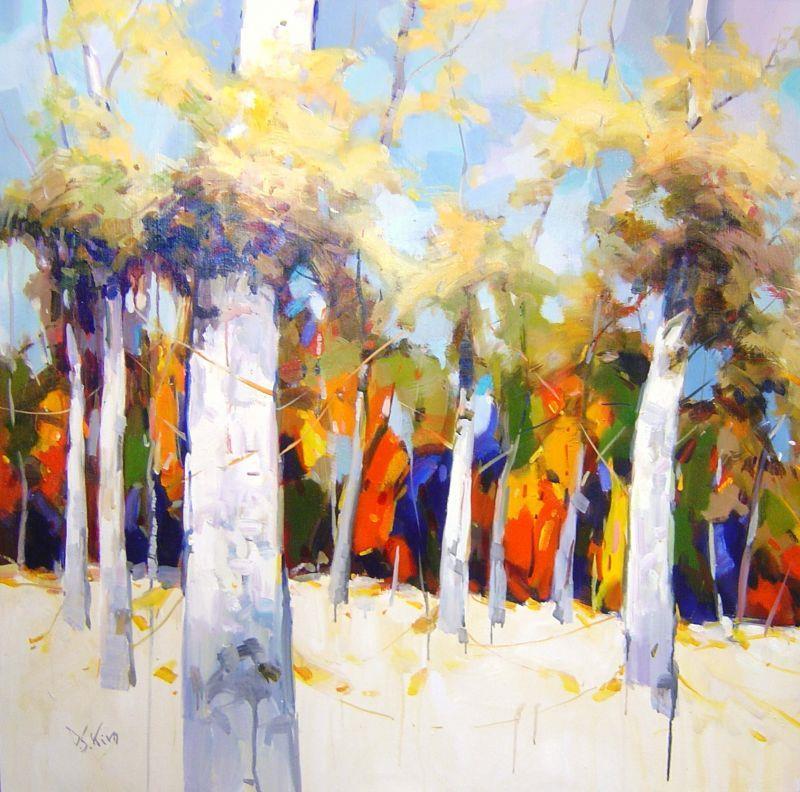 David Kim - Fall - 41 x 41