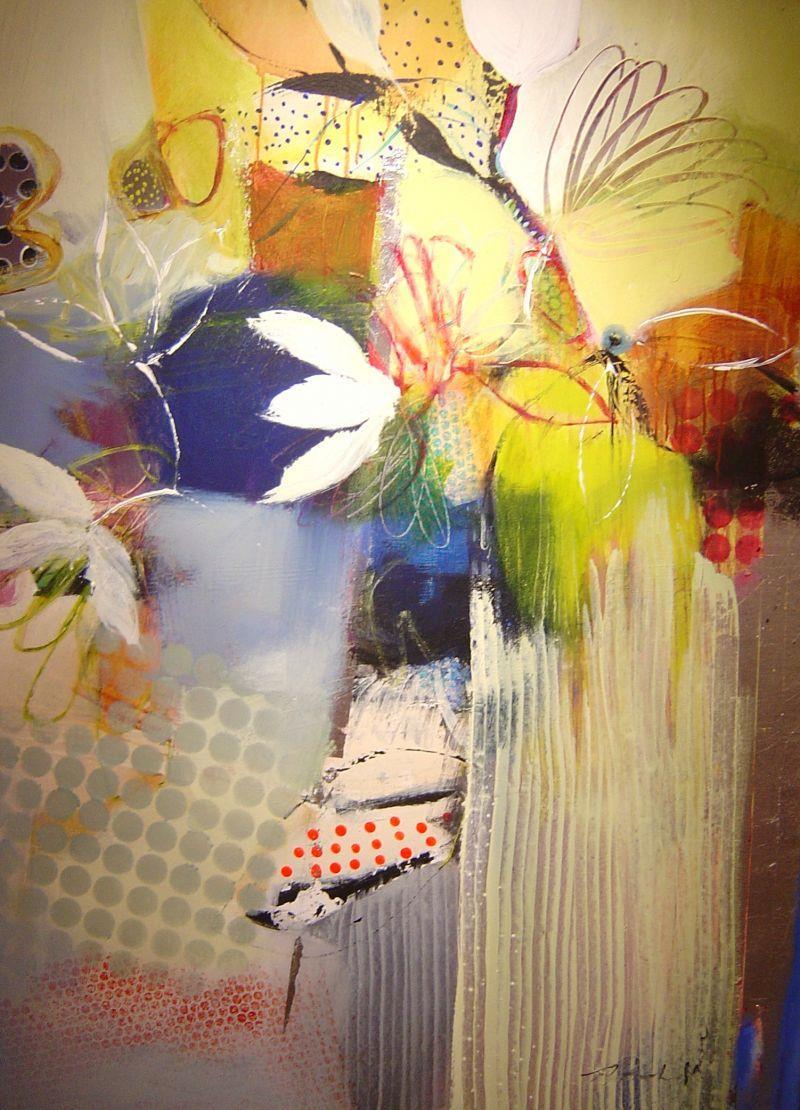 Natasha Barnes - Sensation - 48 x 36
